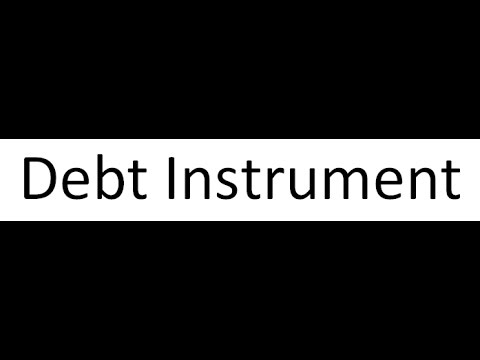 What is Debt instrument