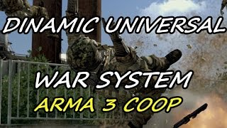 Dynamic Universal War System Arma 3 Coop Gameplay