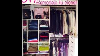 Diy  Has Tu Propio Closet Fácil Y Moderno