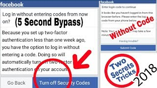TOP 2 Secrets Facebook Login Approval Tricks | Without Code & Documents Account Login Bypass (2018)