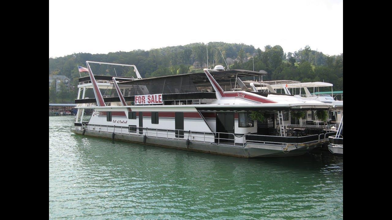 1997 Sumerset 20 x 93 Custom-Built Houseboat For Sale on Norris Lake TN