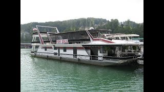 1997 Sumerset 20 x 93 Custom-Built Houseboat For Sale on Norris Lake TN
