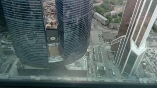 """Экскурсия на башню """"Империя"""" Москва-Сити. 1 часть"""
