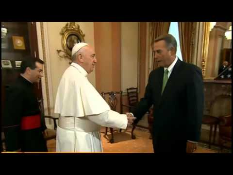 John Boehner Announces Resignation from Congress the Day After Pope Francis Meeting