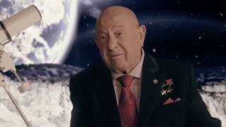 Космонавт Алексей Архипович Леонов - дважды герой СССР. Интервью.