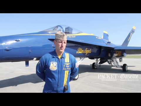 Capt. Frosch, teamwork and trust is what makes the Blue Angels soar