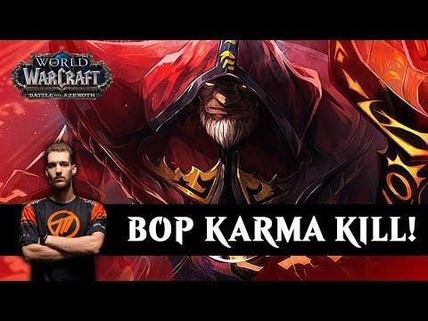 Maldiva - BOP Karma Kill! - WoW BFA 8.1.5 Warlock PvP