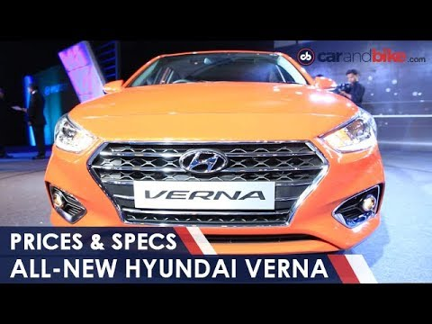 All New Hyundai Verna Launched In India Prices and Specs NDTV CarAndBike