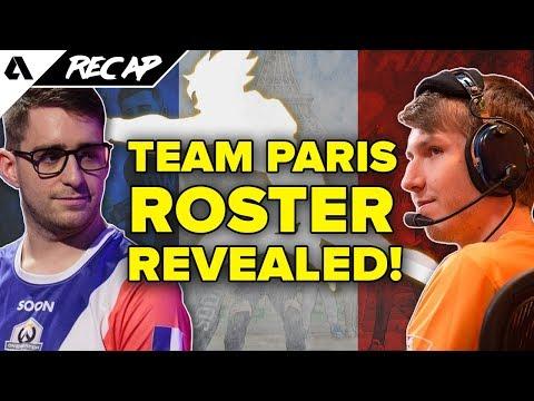 Paris Overwatch League Roster Reveal, Atlanta Reign, New Shanghai Dragons Players   Akshon Recap