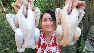 Yummy Frying Native Chicken Cooking - Chicken Frying Recipe - Cooking With Sros