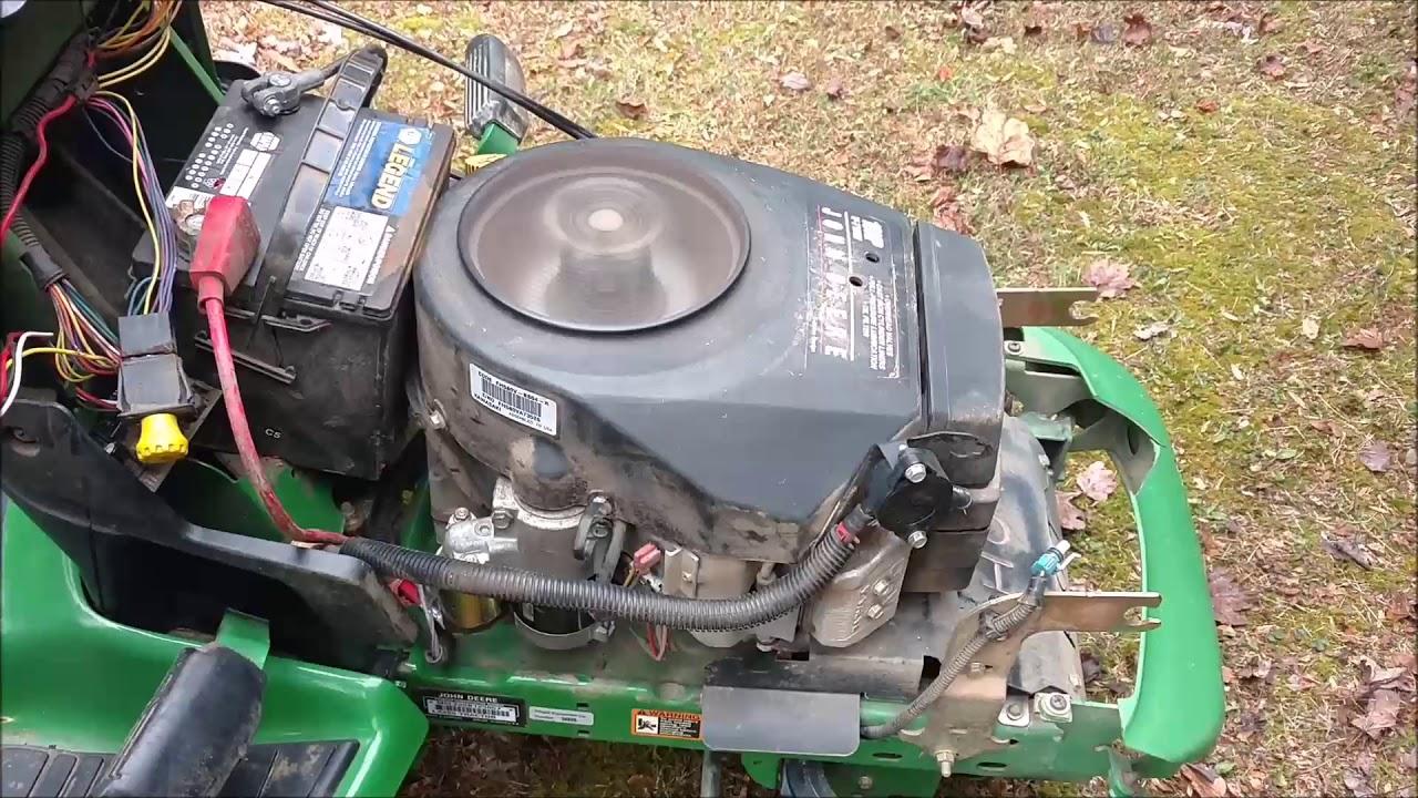 John Deere Engine Kawasaki Fh580v