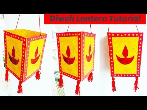 DIY Easy Diwali Lantern | Lantern Tutorial | Diwali Decoration Ideas