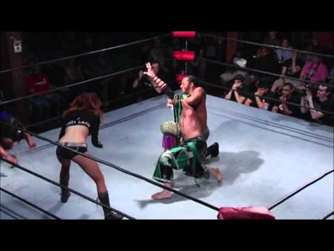 MACHISMO KING LETHAL VS DELIRIOUS - ULTIMATE WARRIOR TRIBUTE MATCH