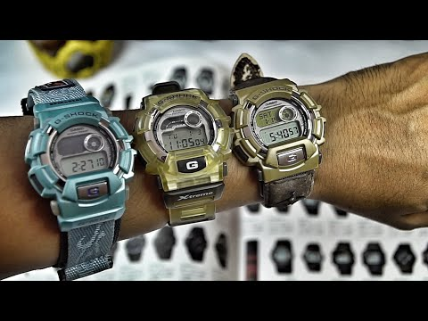 Casio G-Shock DW-9500XS Vs. DW-9550HH Vs. DW-9500RL Vintage Watch Reviews & Comparison
