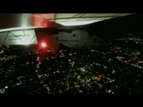 Solar Impulse landing in Japan 'less risky' than Pacific attempt