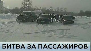 Уфа. Водители маршруток устроили перестрелку в стиле 90 х