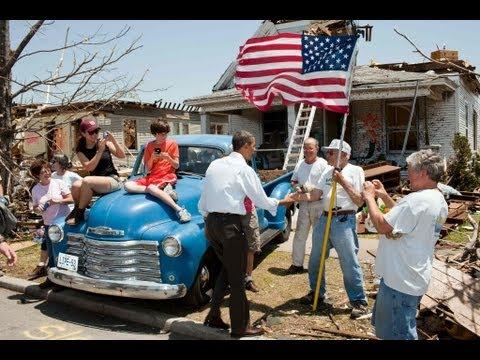 President Obama visits Joplin, Missouri, May 29, 2011