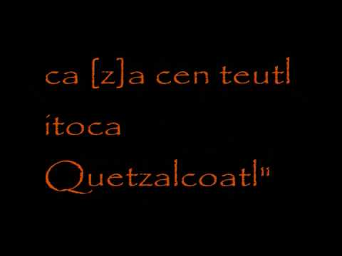 Quetzalcoatl: the Only God of the Tolteca