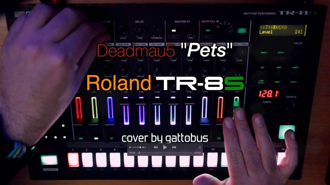 "Roland TR-8S - Deadmau5 ""Pets"" cover by gattobus"