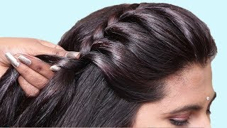 Simple Hairstyle For Everyday Use || Quick hairstyle for party/wedding | Easy Hairstyles
