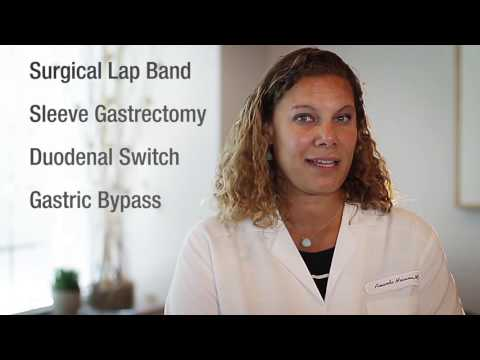 Dr. Amanda Messina, bariatric surgeon at Northern Westchester Hospital, on the hospital's various surgical weight loss procedures available to patients.