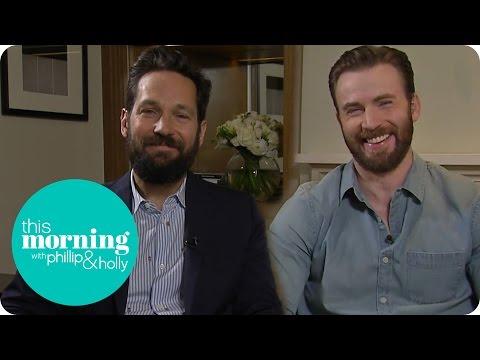 Chris Evans And Paul Rudd Talk Captain America: Civil War | This Morning