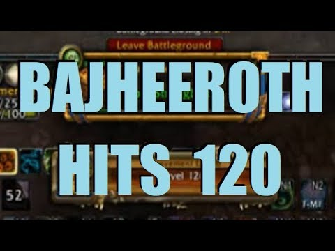 Bajheera BAJHEEROTH HITS LEVEL 120 D WoW BFA 8 1 Unholy DK PvP