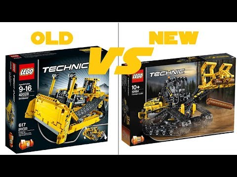 lego technic 2019 42094 tracked loader official hd. Black Bedroom Furniture Sets. Home Design Ideas
