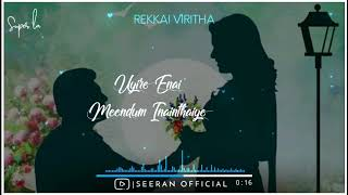 Rekkai Viritha 💕 Romeo Juliet 💕 Jeyam Ravi 💕 Hansika 💕 Seeran 💕 Lyrical Video 💕 WhatsApp Statu