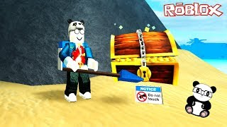 PANDA İLE HAZİNE AVCISI OLDUK! Roblox Treasure Hunt Simulator