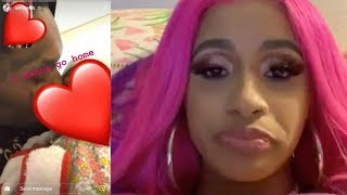 Cardi B ADMITS She Want's To Go Home & Get BACK With Offset!