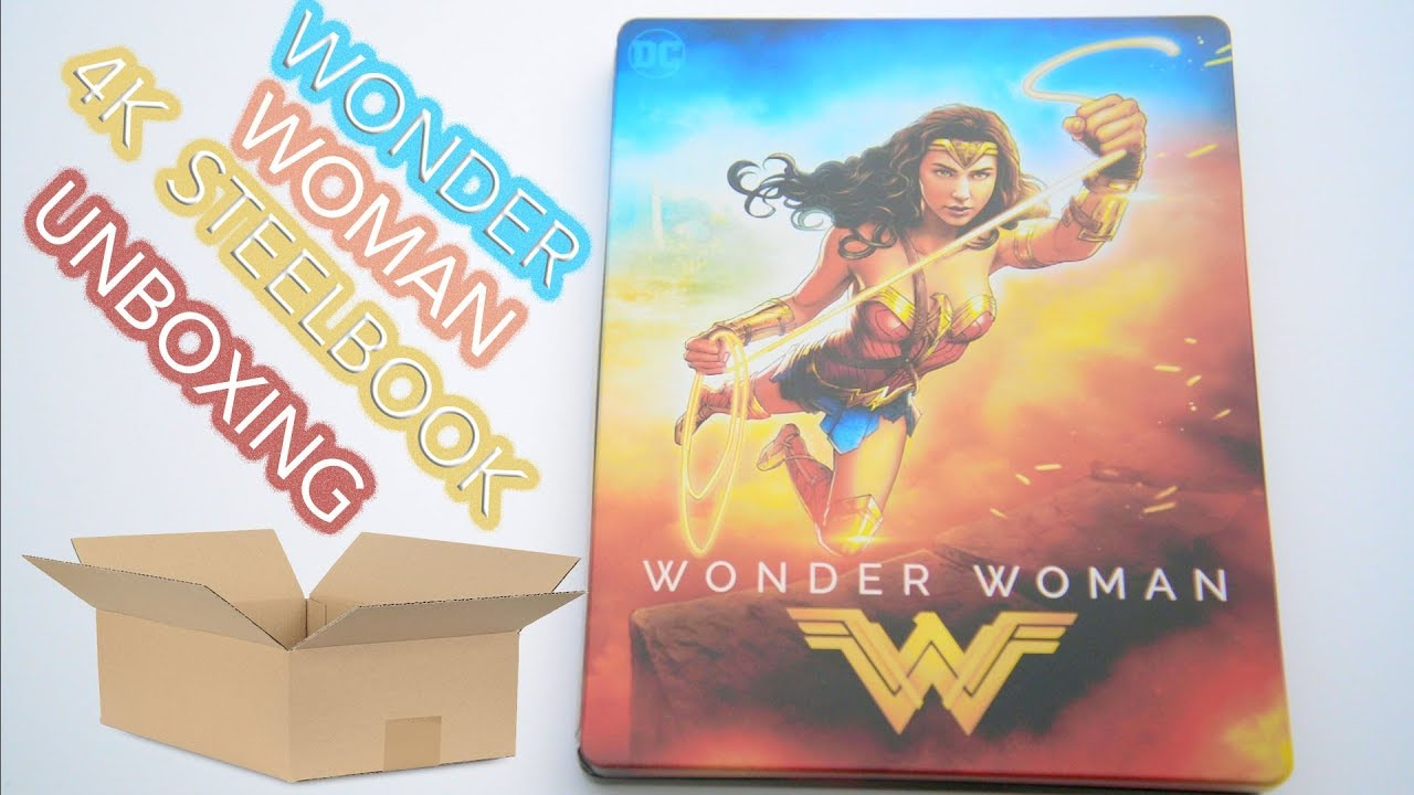 Wonder Woman 4k Steelbook Unboxing Download Mp4 Full Hd