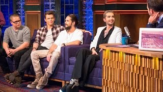 Вечерний Ургант Tokio Hotel, Горан Брегович. Выпуск 543 от 9.11.2015.