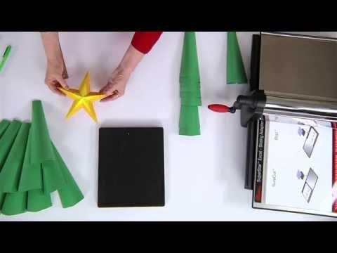 Making a 3-D Christmas Tree