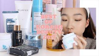 Top 10 Korean Skincare + Beauty ☆ Best of Korean Beauty 2017 ft. Sokoglam | diane 다이앤