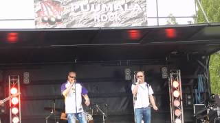 Hausmylly: Se Mustamies (Puumala Rock 2015) Live
