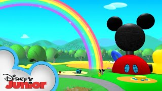 Rainbow Fun 🌈 | Mickey Mouse Clubhouse | Disney Junior
