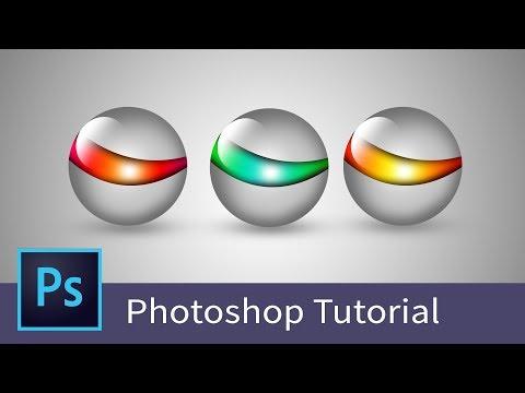 Adobe photoshop tutorial - Learn Photoshop - How to design logo in Photoshop cc - Basic Tutorial