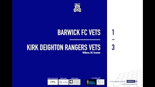 Barwick Veterans Match Highlights