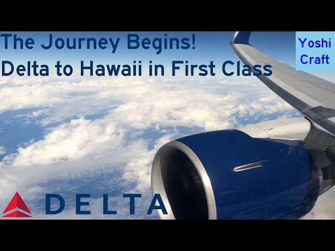 The Journey Begins!  Delta to Hawaii in First Class (DL2365, LAX-HNL) (Trip Report)