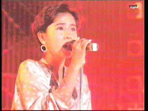 """ribbon """"サイレント・サマー"""" '92 日比谷野音 永作博美"""