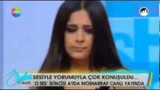 Ayda Mosharraf   Allahım Neydi Günahım Saba Tümer Canlı Performans)