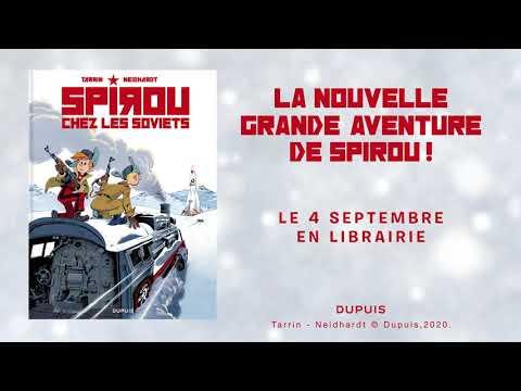 bande annonce de l'album Spirou chez les Soviets