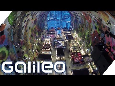 Das ist die verrückteste und modernste Markthalle Europas | Galileo | ProSieben