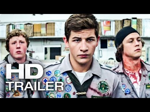SCOUTS GUIDE TO THE ZOMBIE APOCALYPSE Official Trailer (2016)