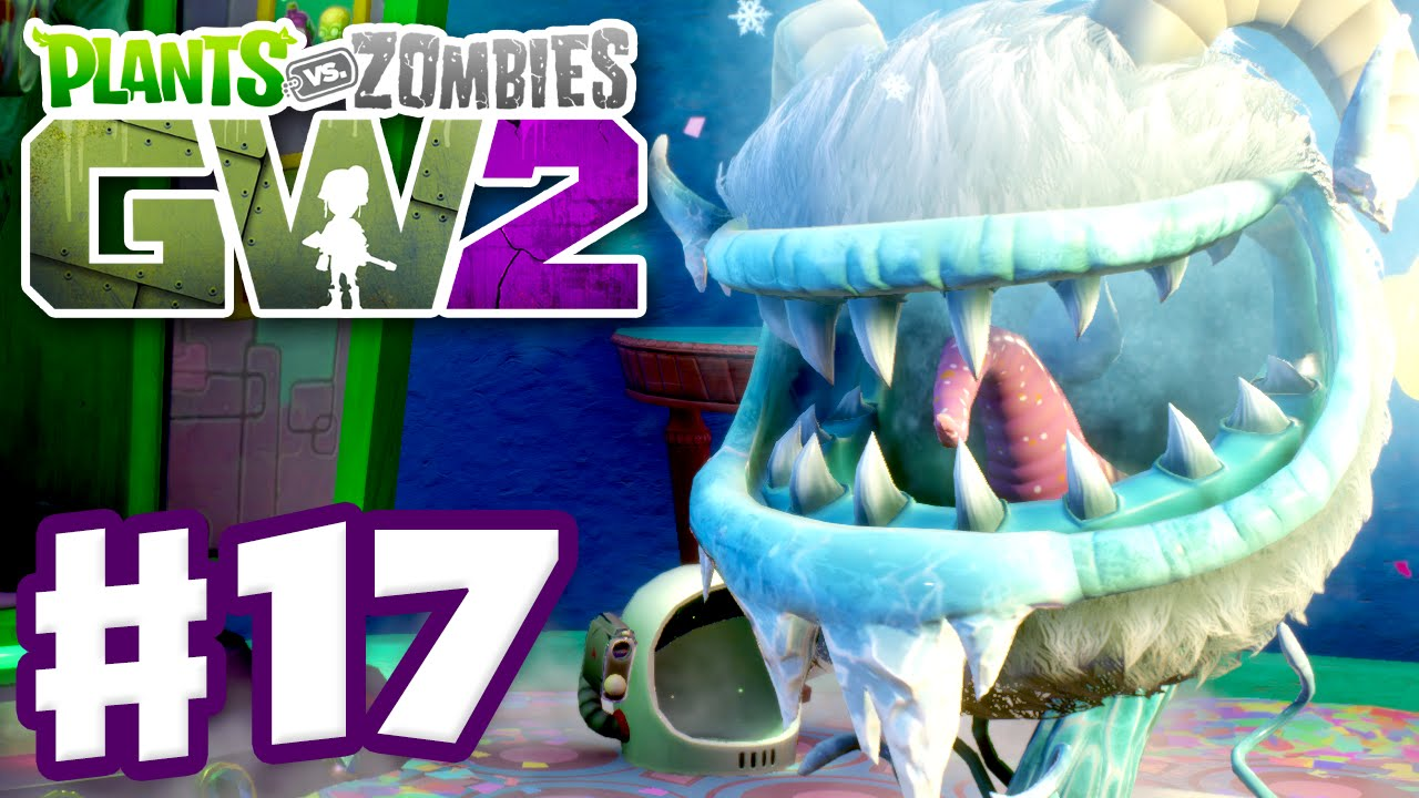 Plants Vs Zombies Garden Warfare 2 Gameplay Part 17 Yeti Chomper Pc Youtube