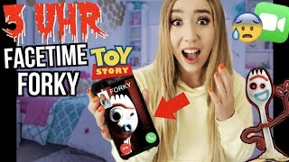RUFE FORKY aus TOY STORY 4 niemals um 3 uhr Nachts über FACETIME an...