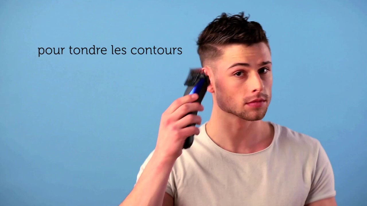 Tuto Coupe Homme Side Swept Avec Degrade Youtube
