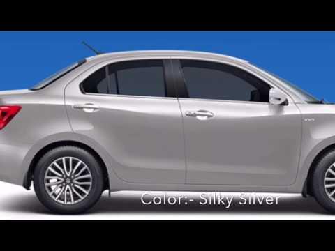 Maruti Suzuki Dzire Colors (Colours) 2017