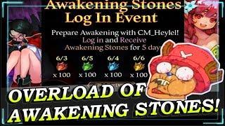 OVERLOAD OF GREATER AWAKENING STONES! AMAZING LOG IN EVENT! HEIR OF LIGHT!